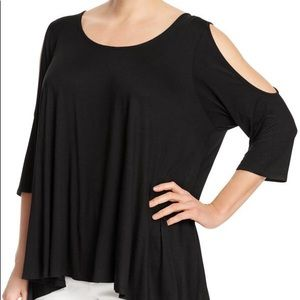 Nally&Millie cold shoulder trapeze tunic work 2x!!